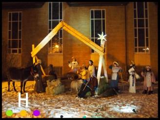 Living Nativity at Gaetz United Church