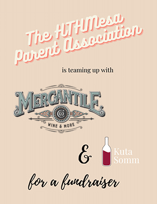 Mercantile & Co Wine Social Flyer