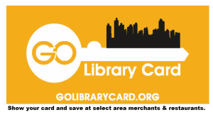 Golibrarycard.org show your card and save