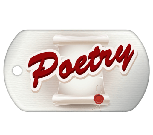 Teen Summer Reading Brag Tag.- Poetry
