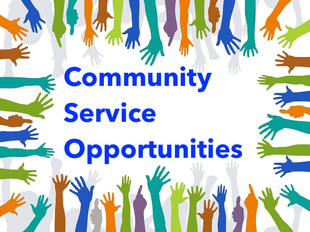 Community Service Opportunities