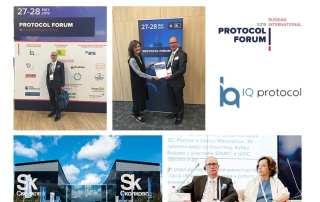 Russian International Protocol Forum 2019 Postcard
