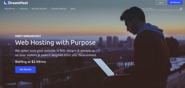 dreamhost- SSH hosting provider