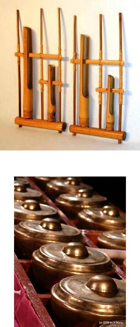 Idiofon Idiofon merupakan alat musik yang sumber bunyinya itu...