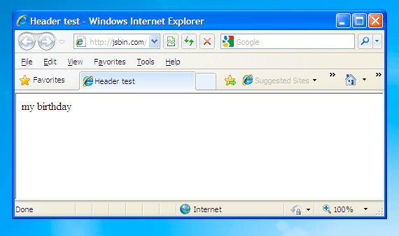 IE without HTML 5 shiv