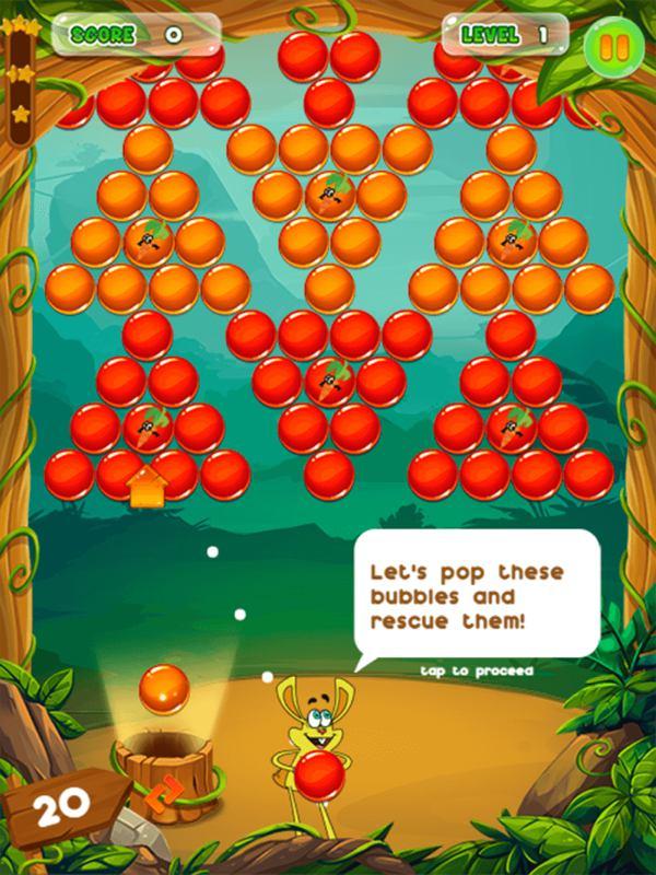 tik bubble shooter game