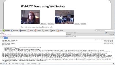 WebRTC demo