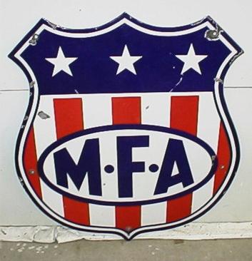 MFA sign