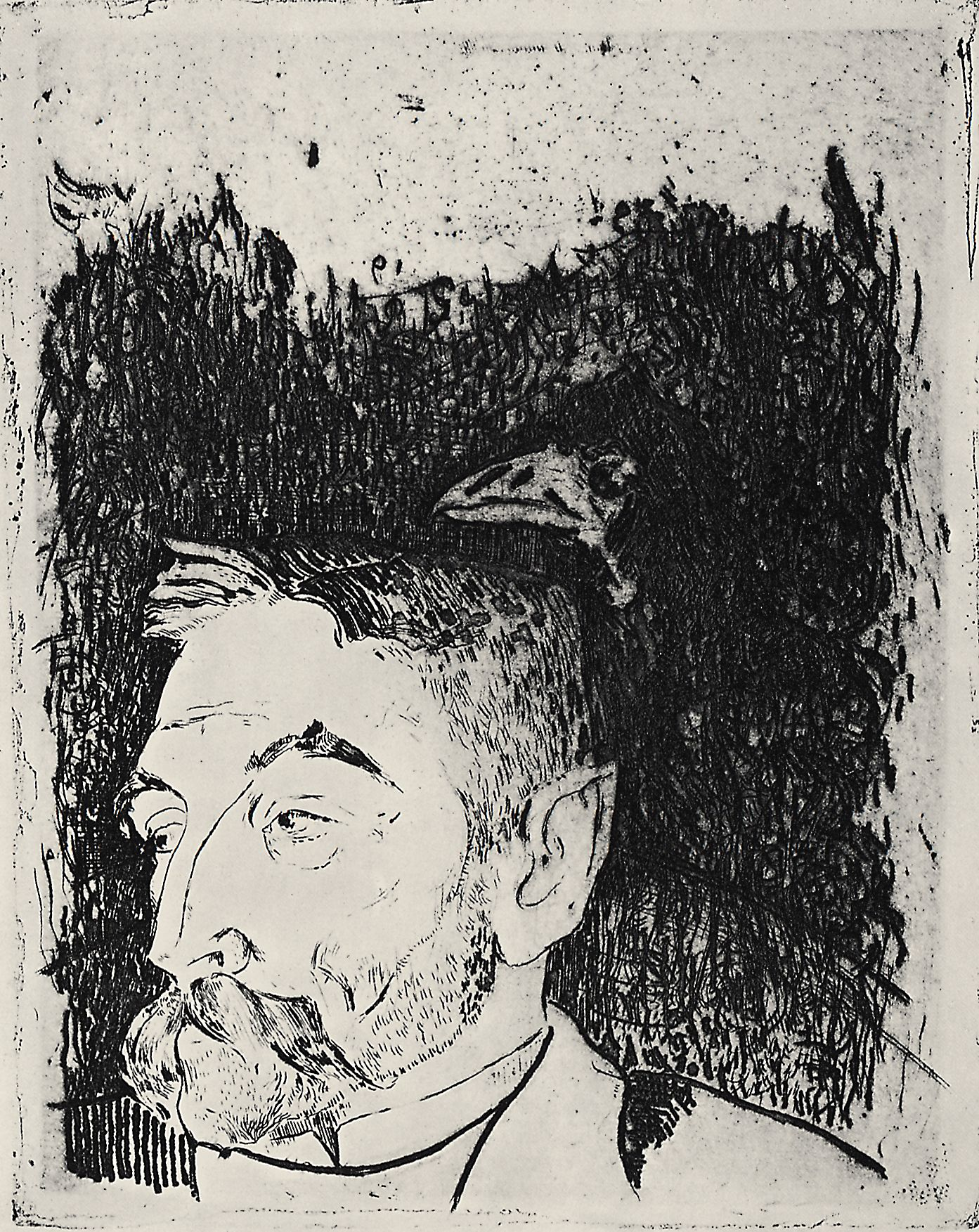 mallarme by gaugin