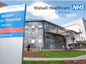Walsall Healthcare live with System C, with the deployment documented on Twitter