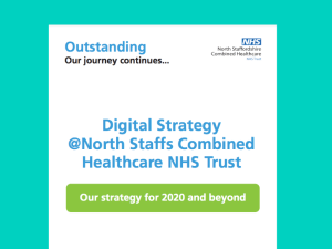North Staffordshire Combined launches Digital by Choice Strategy