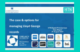 Video: Digitising Lloyd George records at HTN Digital Primary Care