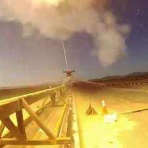 mars parachute test
