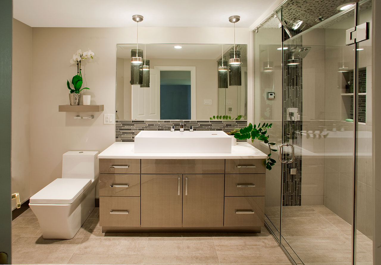 Contemporary Bathrooms Designs & Remodeling