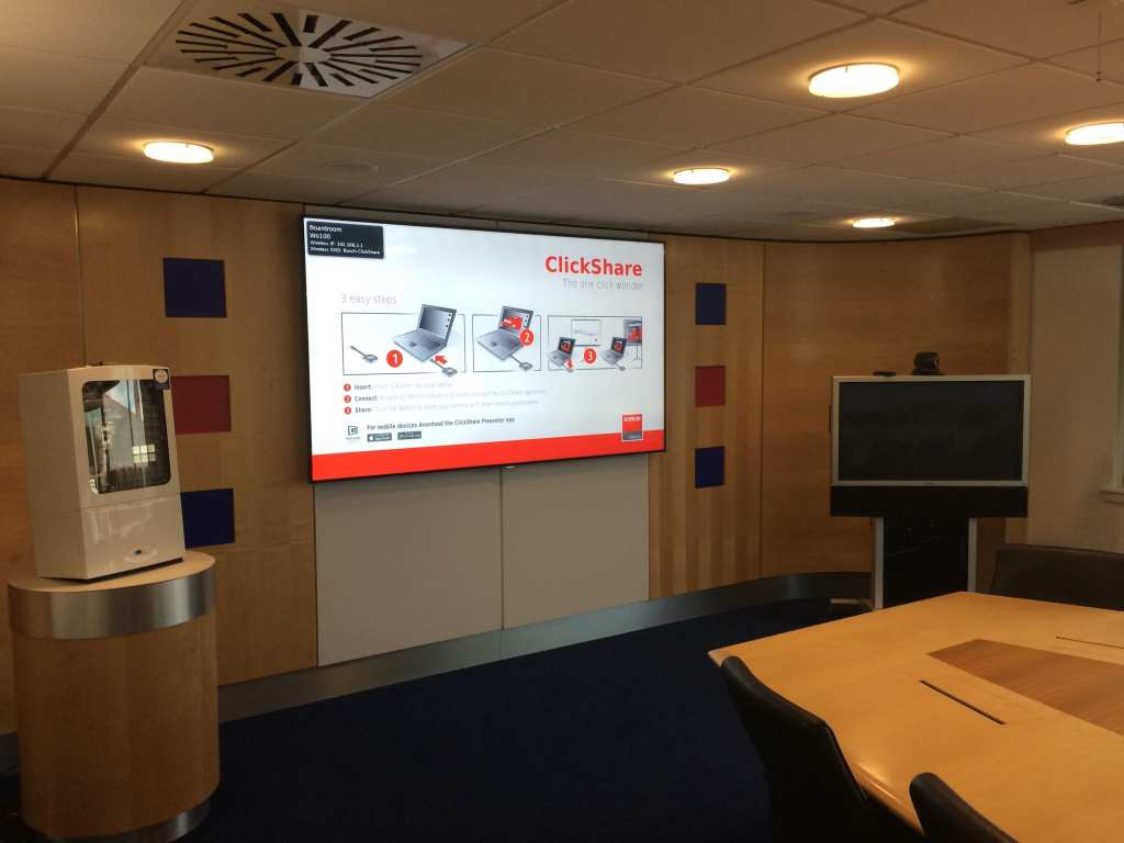 barco clickshare installed by hts