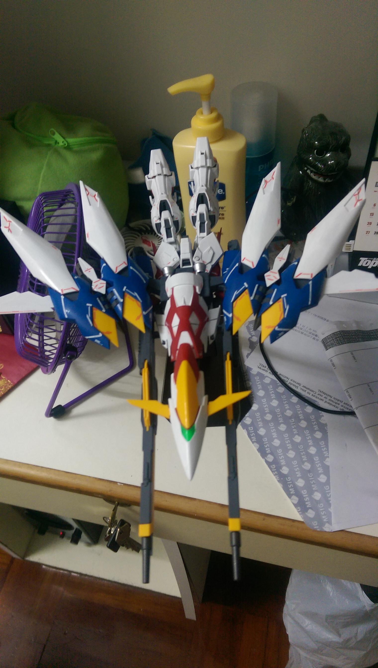 MG 1 : 100 XXXG-00W0 Wing Gundam Proto Zero EW Ver | 無能力改變世界的平凡人