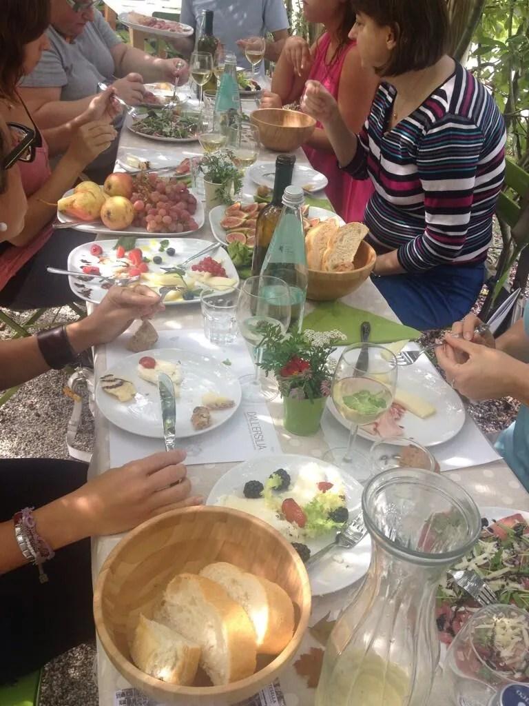 Arte Sella - Lunch Time