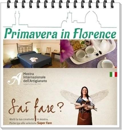 Aprile a Firenze : Mostra Internazionale dell'Artigianato!