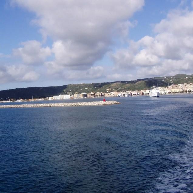 Carloforte- panorama dal traghetto