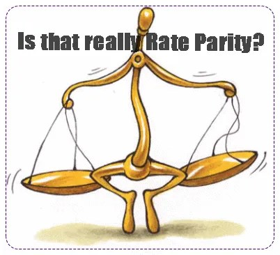 Parity hospitality or rate parity?