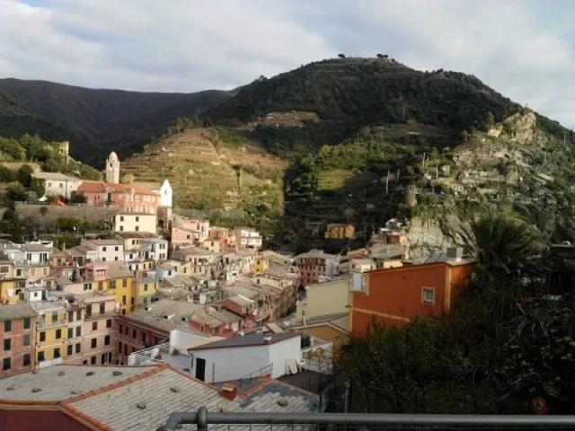 Vernazza - Panorama dal Castello Doria