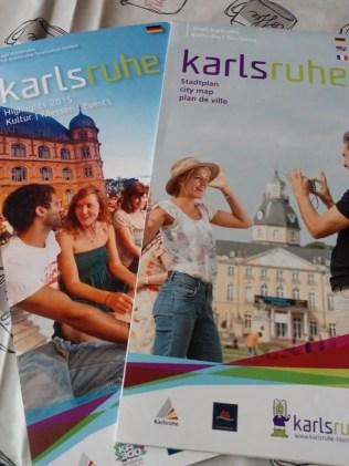 Highlights Karlsruhe 2015 und Stadtplan