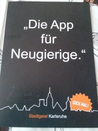 Stadtgeist Karlsruhe app