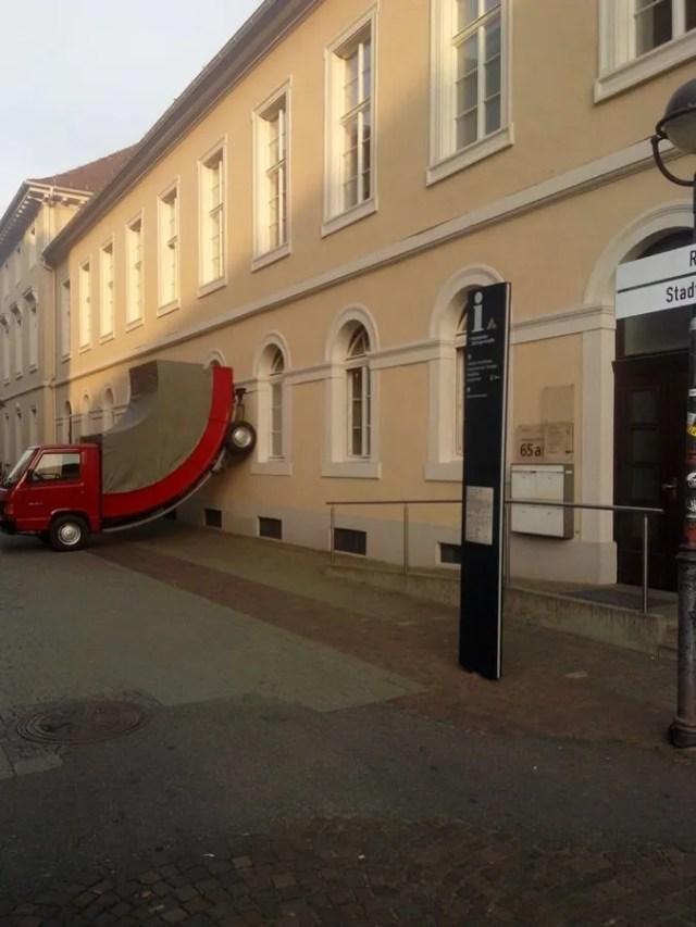 Karlsruhe city - opera del ZKM