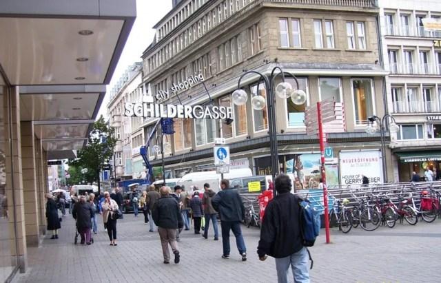 Shopping area - Schildergasse