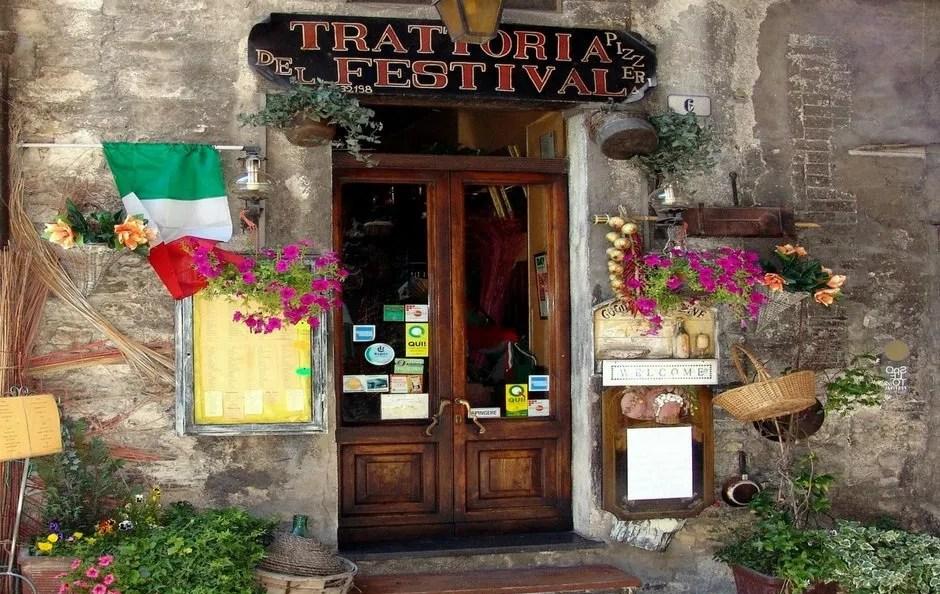 Reisen nach Italien