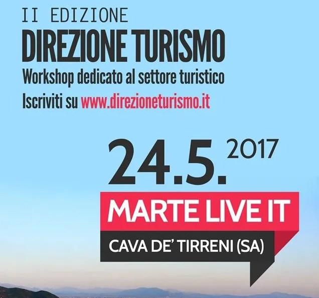 Direzione Turismo fa il Bis : il 24 Maggio a Cava de' Tirreni la II edizione