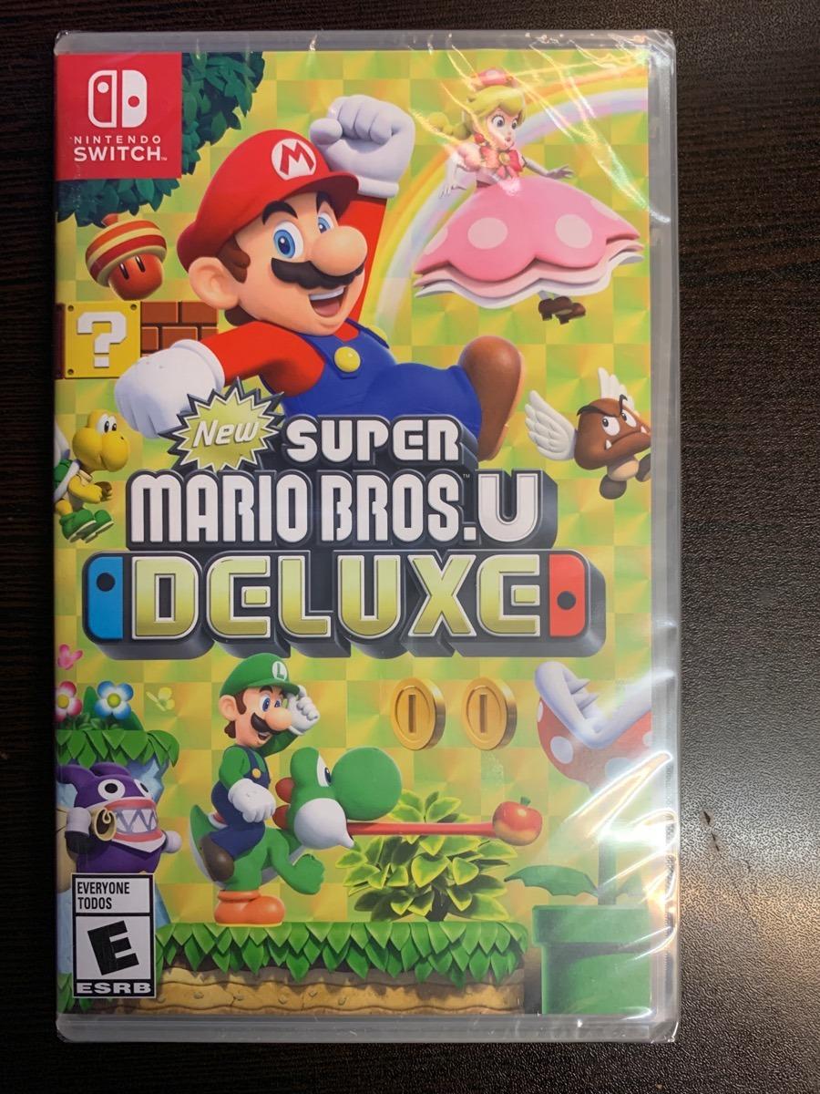 ..:: New Super Mario Bros U Deluxe ::.. Para Nintendo Switch - $ 1.549.00 en Mercado Libre