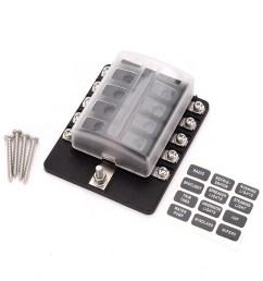box holder fuse blocks con indicador led cargando zoom  [ 1000 x 1000 Pixel ]