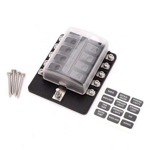 small resolution of  box holder fuse blocks con indicador led cargando zoom