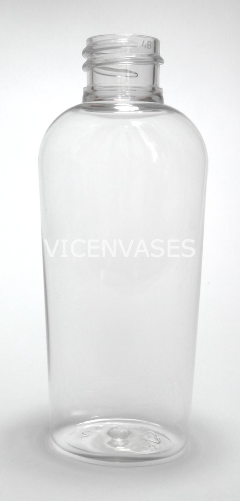 100pzs Envase Plastico Pet 60ml Oval Con Tapa Disktop
