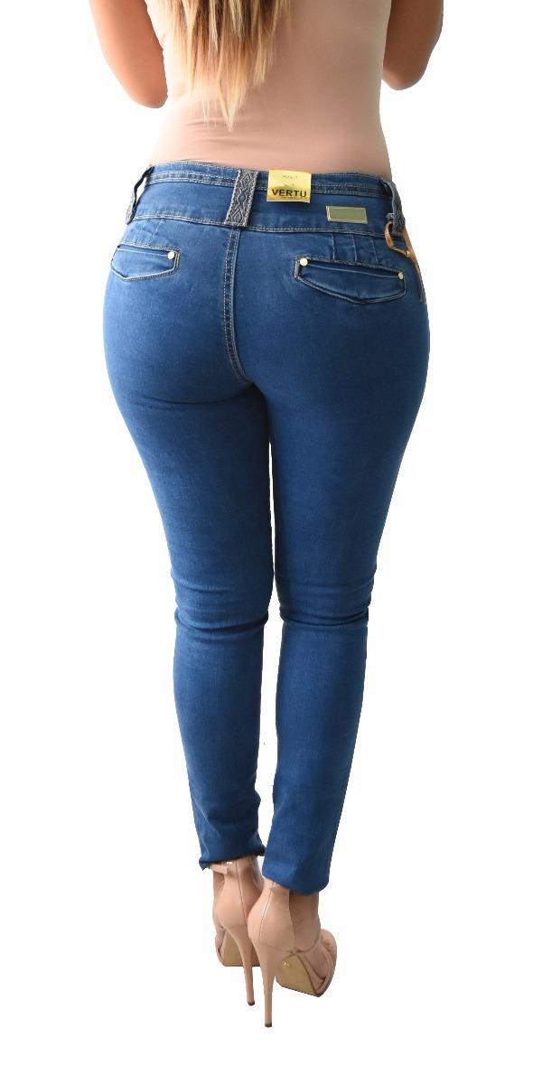 12 Pantalones Colombianos Jeans Dama Mezclilla V-f17 Mayoreo - $ 2.199.00 en Mercado Libre