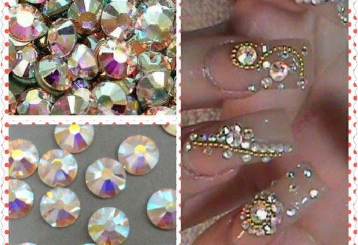 1440 Piedras 8 100 Cristal Decoracion Uñas Tipo Swarovski