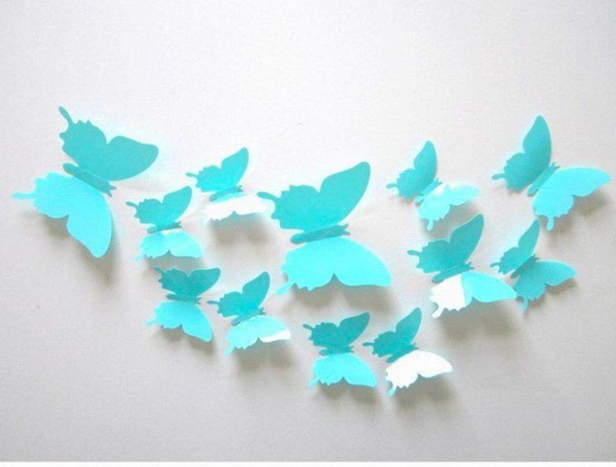 24 Mariposas 3d Para Decorar Paredes   29900 en