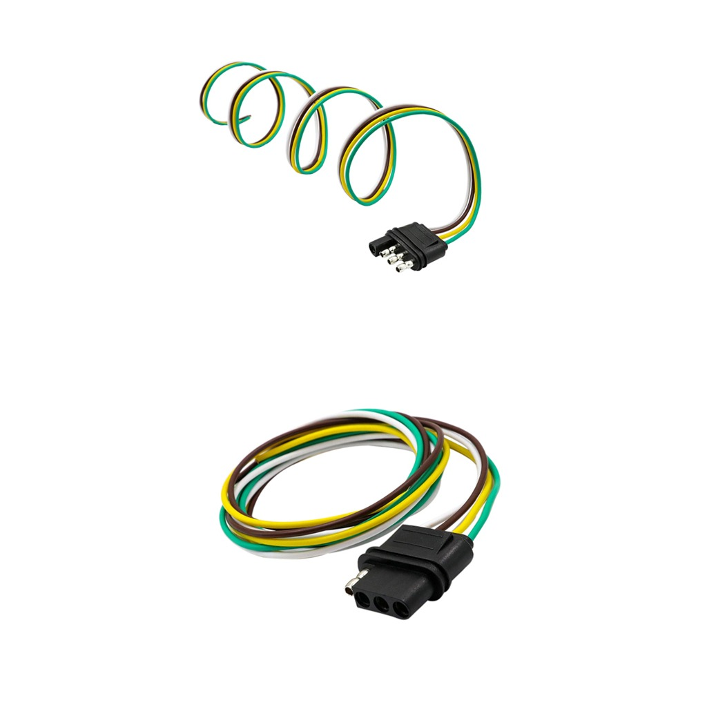 hight resolution of  trailer light wiring harness extension flat wir cargando zoom