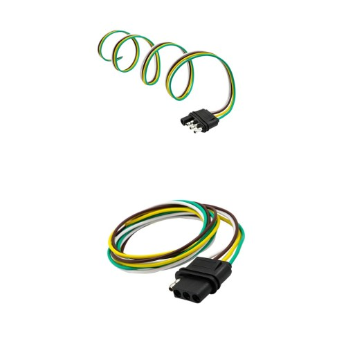small resolution of  trailer light wiring harness extension flat wir cargando zoom