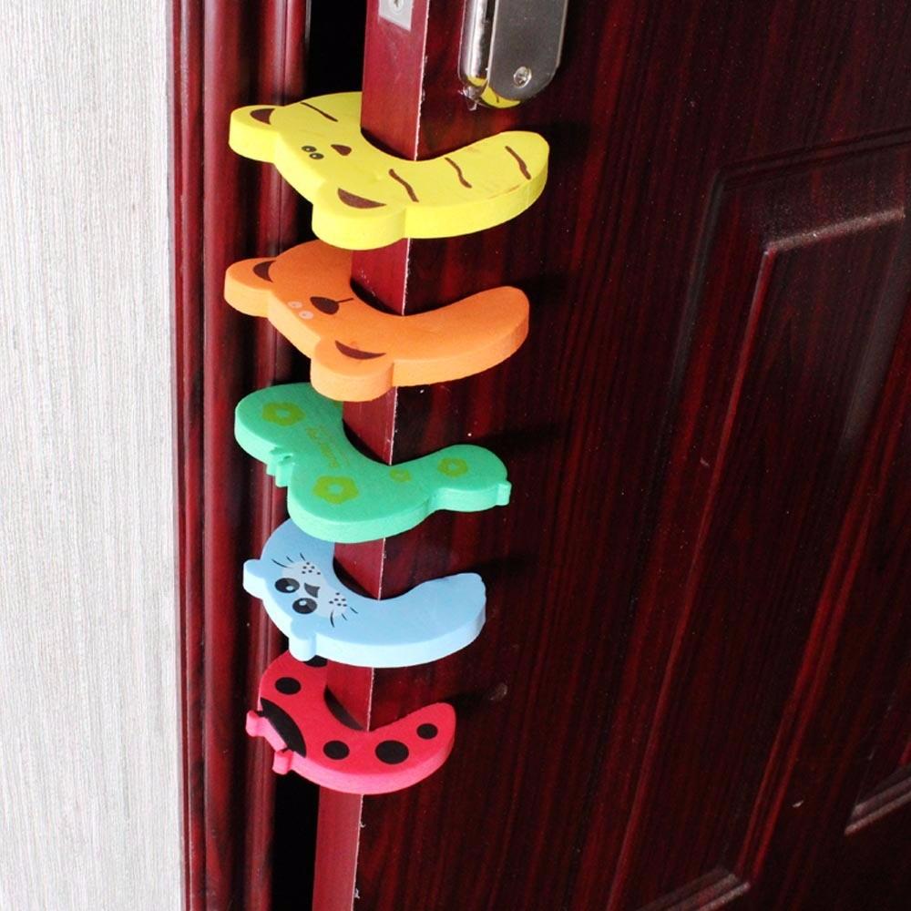 4 Protectores De Seguridad Para Puertas Nios Y Bebes