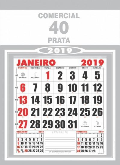 imprimir calendarios 2019