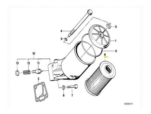 9063138 Filtro Aceite Motor Bmw E34 E32 530i 535i 730i