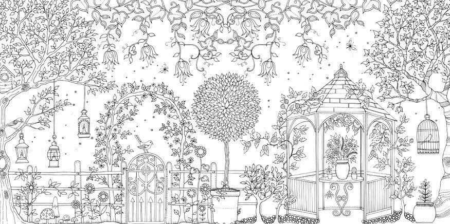 96 Pginas Libro Tipo Mandala Contra Stress Secret Garden