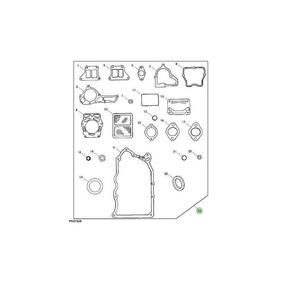 Kit Media Reparacion Para Motor John Deere en Mercado