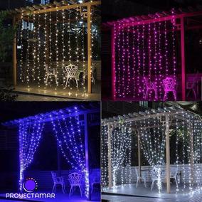Cortinas Luces Led Para Eventos  Luces de Navidad en