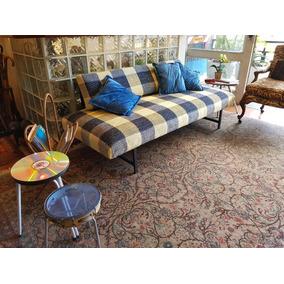 mercadolibre uruguay sofa cama usado nina expandable table sofas no mercado livre brasil solteiro dobravel em chenilha quadriculada novo