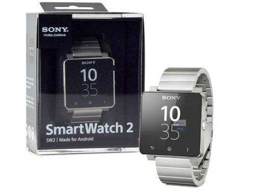 Sony Smartwatch 2 Sw2 Correa Metal Plata (caja Abierta) - $ 1.798.00 en Mercado Libre