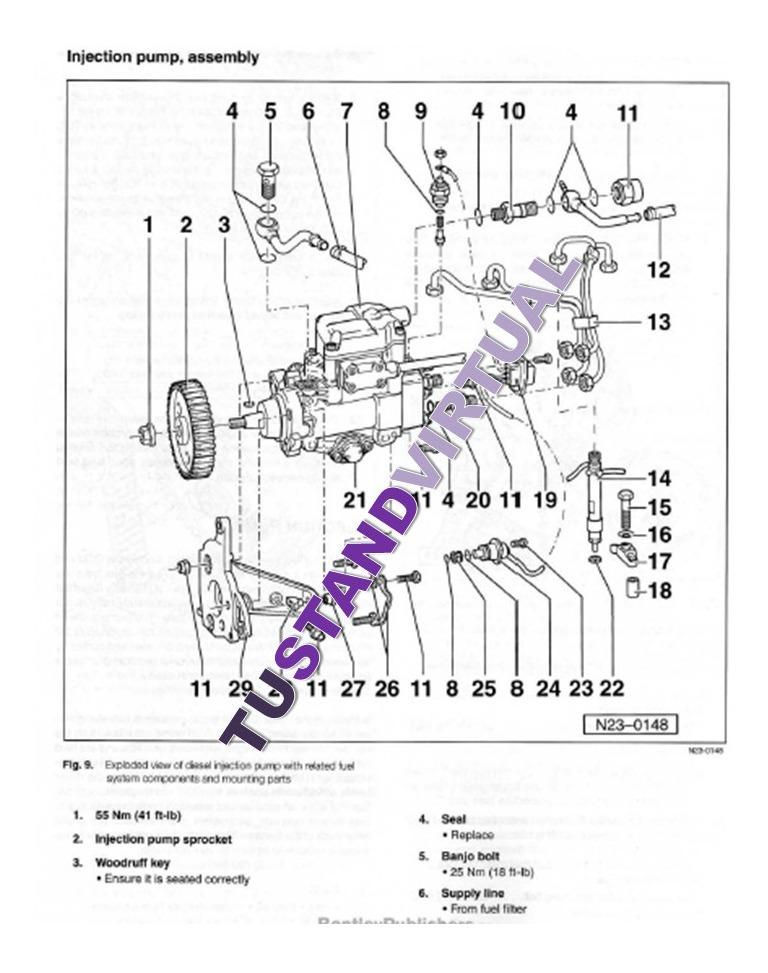 Manual De Taller Volkswagen Jetta Golf A3 1993 1999