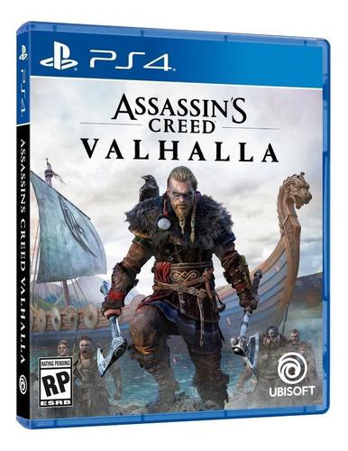 Assassin's Creed Valhalla Standard Edition Físico Ps4   Mercado Livre
